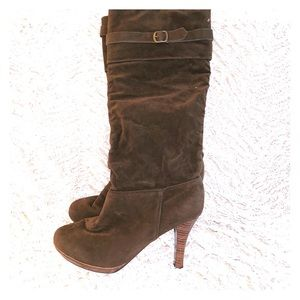 Rampage Brown Suede Boots